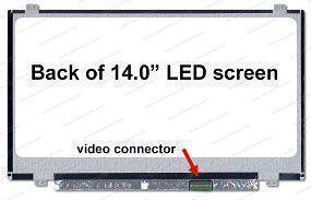140SlimU-D30P, UP/DOWN BRACKETS, SLIM, LED, WXGA (1366x768)