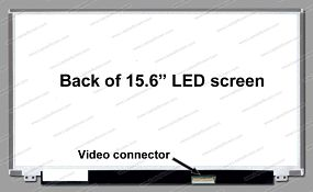 156SlimD40P, 15.6'' WUXGA(1920x1080), Slim, LED, 40Pin
