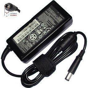 DE19.5V3.34A-RedondoGrande, Cargador Dell Conector 7.4x5mm