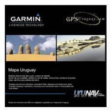 Mapa Garmin Uruguay