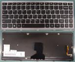 KeyLenP400, Ideapad P400 Keyboard for Lenovo, English, Gray